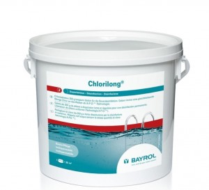 Chlorilong Supreme 200g 5 kg - chlor w tabletkach do basenu