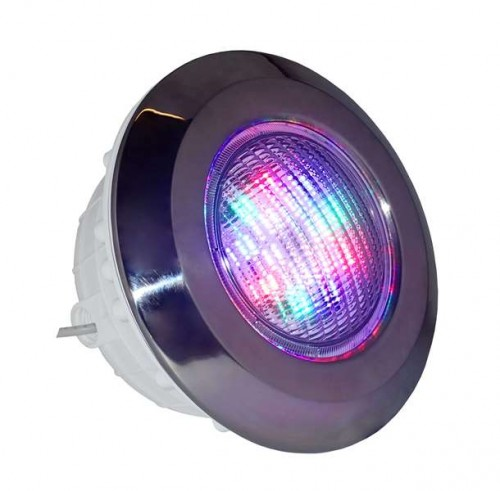 Lampa do basenu Diamond Plus LED RGB KOLOR 40W chrom - oświetlenie basenu