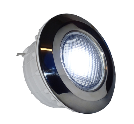 Lampa do basenu Diamond Plus LED 25W chrom - oświetlenie basenu